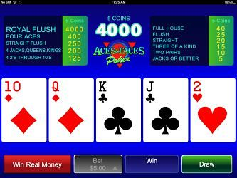 Aces And Faces iPhone Video Poker