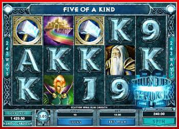 iPhone Thunderstruck Slot Machine Game